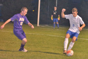 Miller scores a goal in each half of Riverdale's 2-0 victory against Ada