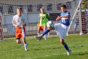 Melroy scores 2 late goals to put away Rams in 4-1 victory