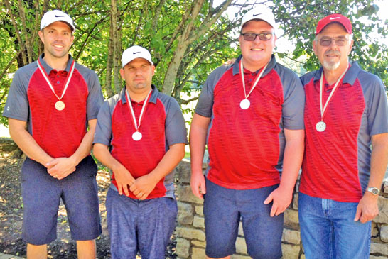 Golf medalists featured