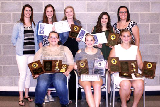 Riverdale volleyball awards