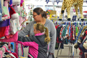 Patrons shop small to support local