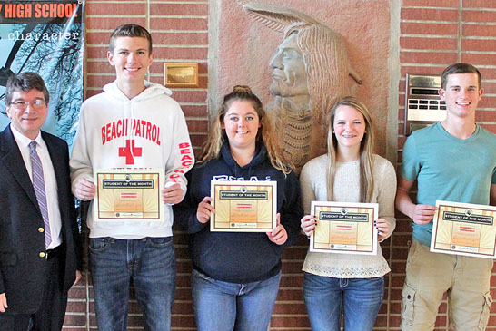 USHS October honored students featured
