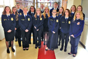 USHS FFA students compete in job interview career development