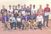 Upper boys soccer awards