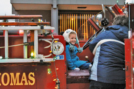 Village lights up for 14th annual Christmas in Carey