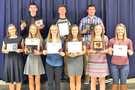 Upper cross country awards
