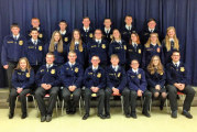 USHS FFA inducts greenhands