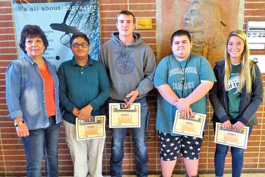 USHS November students