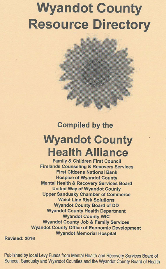 2016 Wyandot Co Resource Directory