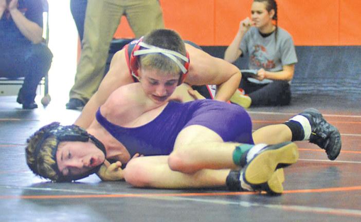 Mohawk wrestling finishes 7th, Carey 8th at Van Buren Invitational