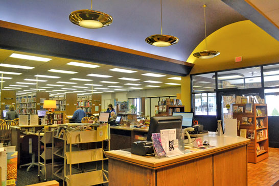 Library's new look