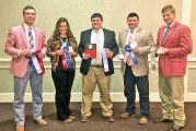 Walton completes time on OSU collegiate livestock judging team