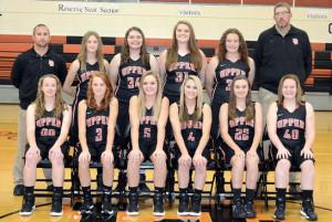 Upper JV girls basketball