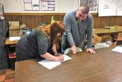 Wharton Village Council swears in new member