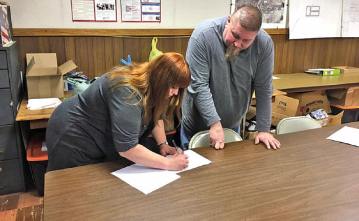 Wharton Village Council swears in new member