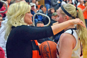 Fogle scores 1,000th point in win