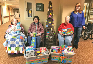Fairhaven gives back