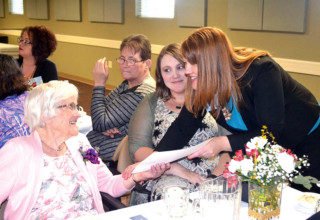 Fairhaven volunteers honored