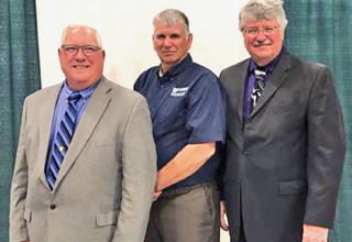 Re-elected board