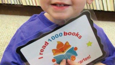1,000 books read