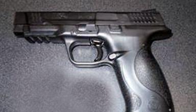 Gun found at school