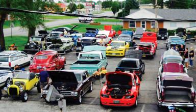 Dairy Snack car show