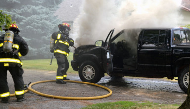 Engine fire