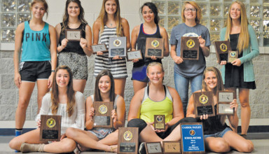 Riverdale girls track and field awards