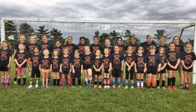 Girls soccer camp 1-4