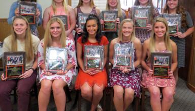 Upper softball awards
