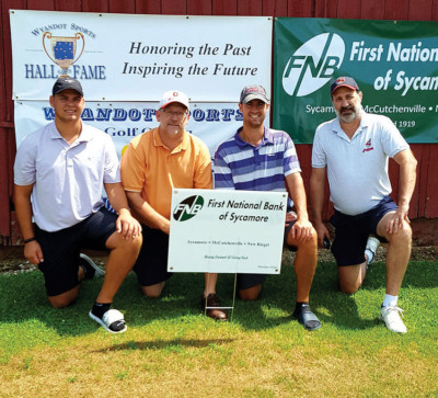 WSHOF golf outing men's winners