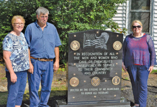 Veterans memorial unveiled
