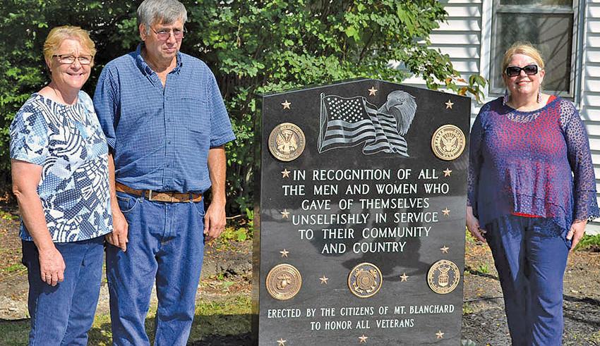 Veterans memorial unveiled