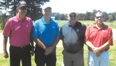 Senior Golf Classic winners