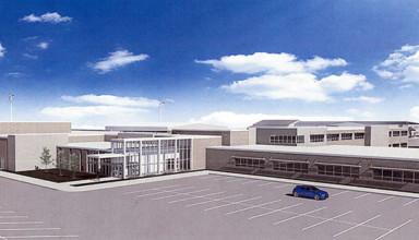 Proposed new Wynford school