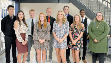 CHS homecoming court