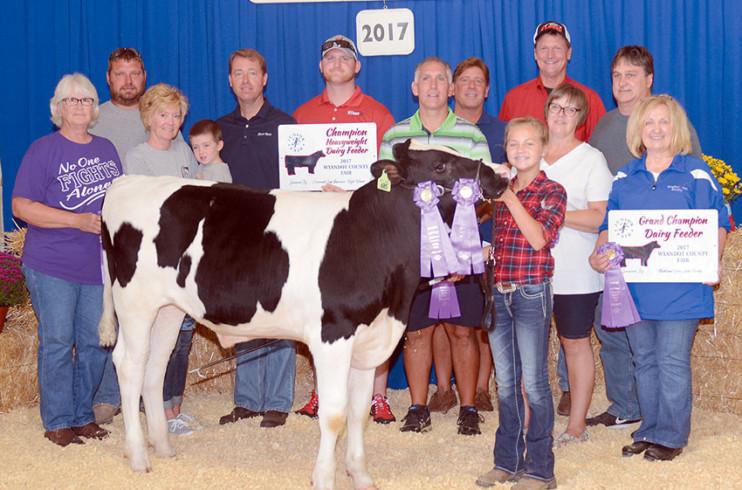 Grand Champion dairy feeder