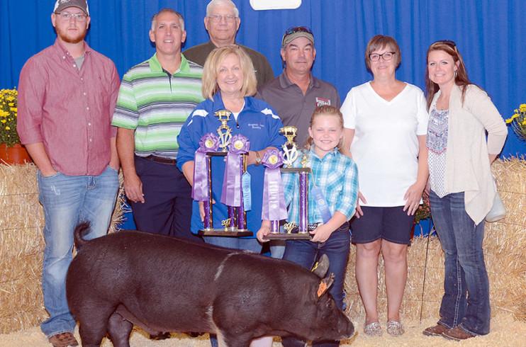 Overall Grand champion market hog
