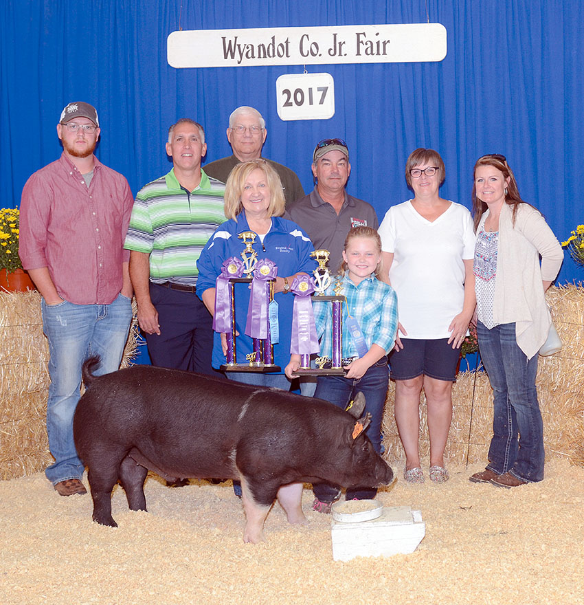 Overall Grand champion market hog