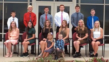 Mohawk homecoming court