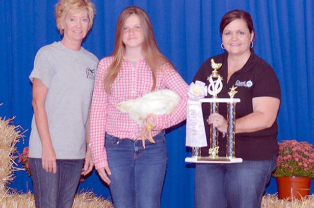 Reserve champion market chicken