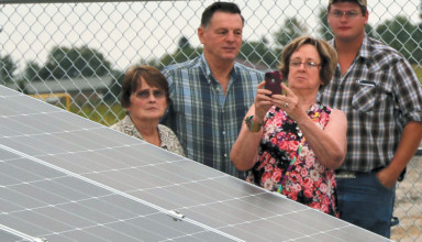 New solar power featured