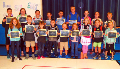 Beatitude Students of the Month