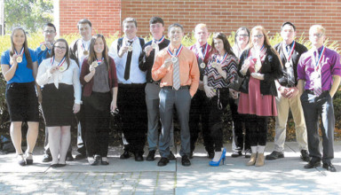 District 3 marketing competition