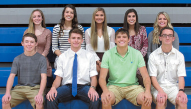 Wynford homecoming court